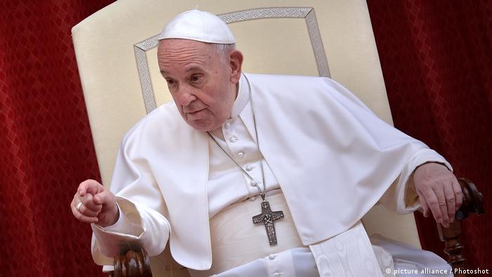 """Según el sumo pontífice, la unidad """"obedece a un criterio fundamental, que es el respeto a la persona, al rostro del otro"""" y en especial a los pobres, los pequeños y los excluidos. Foto: Picture Aliance."""