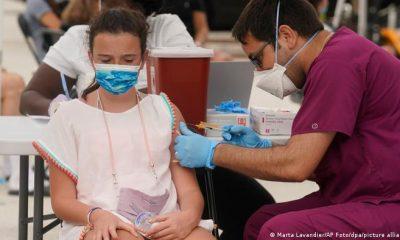 """La vacuna pediátrica de Pfizer/BioNTech contra el COVID-19 es """"segura"""" y """"tolerada"""" por los niños de 5 a 11 años, anuncian sus laboratorios. Foto: Picture Aliance."""