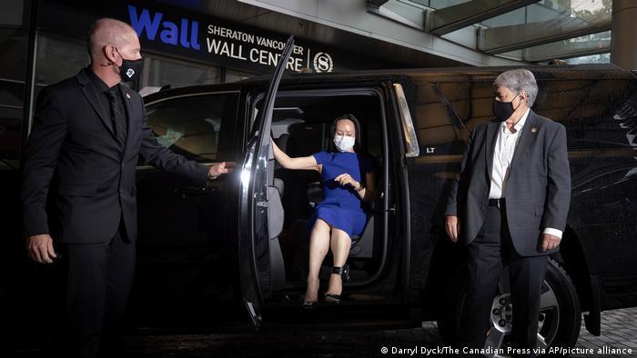 """""""Sin una madre patria fuerte, no estaría hoy en libertad"""", aseguró la directora financiera de Huawei según la televisión estatal. Foto: Picture Aliance."""