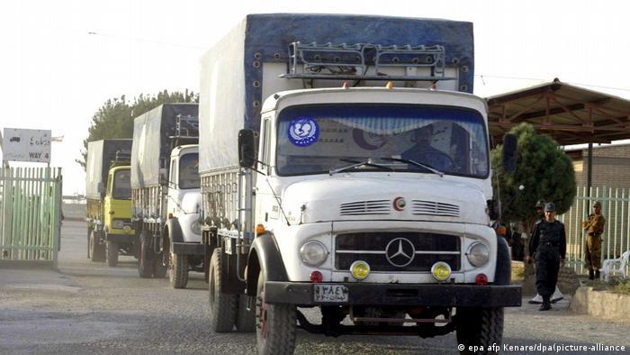 Un cargamento de medicamentos en Afganistán enviado por UNICEF en una imagen de archivo.. Foto: Picture Aliance.