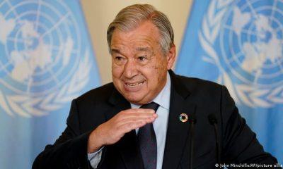 """El secretario general , António Guterres, abrió la Asamblea General de la ONU, haciendo sonar la señal de """"alarma"""" ante un mundo que """"nunca ha estado tan amenazado ni tan dividido"""". Foto: Picture Aliance."""