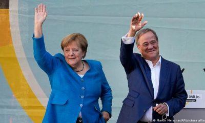 """""""Se trata de tu futuro, el de tus hijos y el de tus padres"""", manifestó la canciller alemana un día antes de las elecciones generales. Foto: Picture Aliance."""