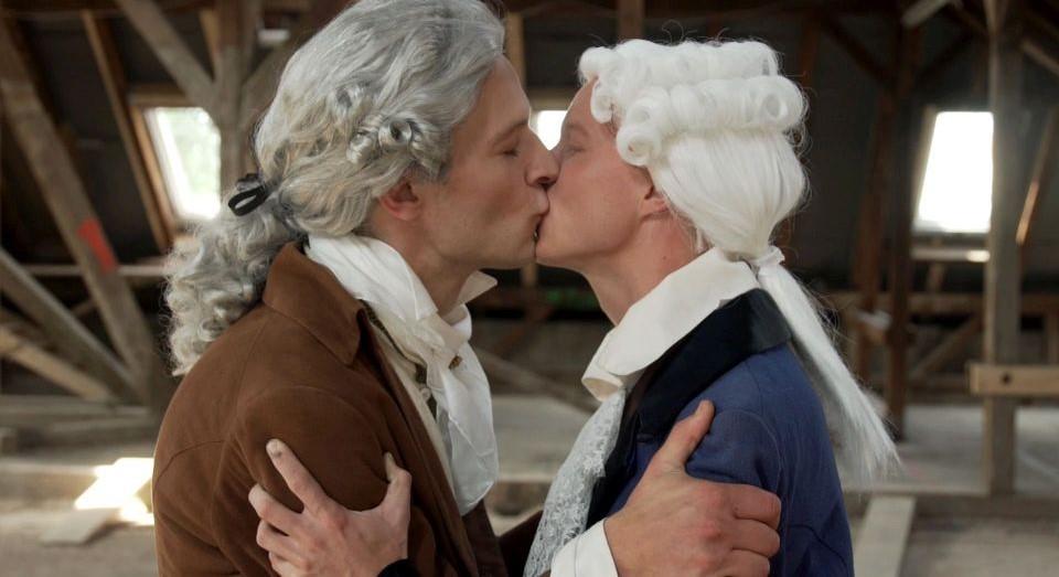 El documental explora la homosexualidad de Goethe junto a otros personajes contemporáneos. Créditos: Rosa von Praunheim Filmproduktion.