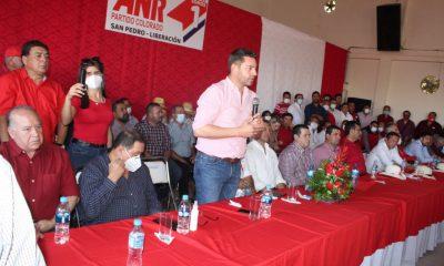Presidente de la ANR, Pedro Alliana