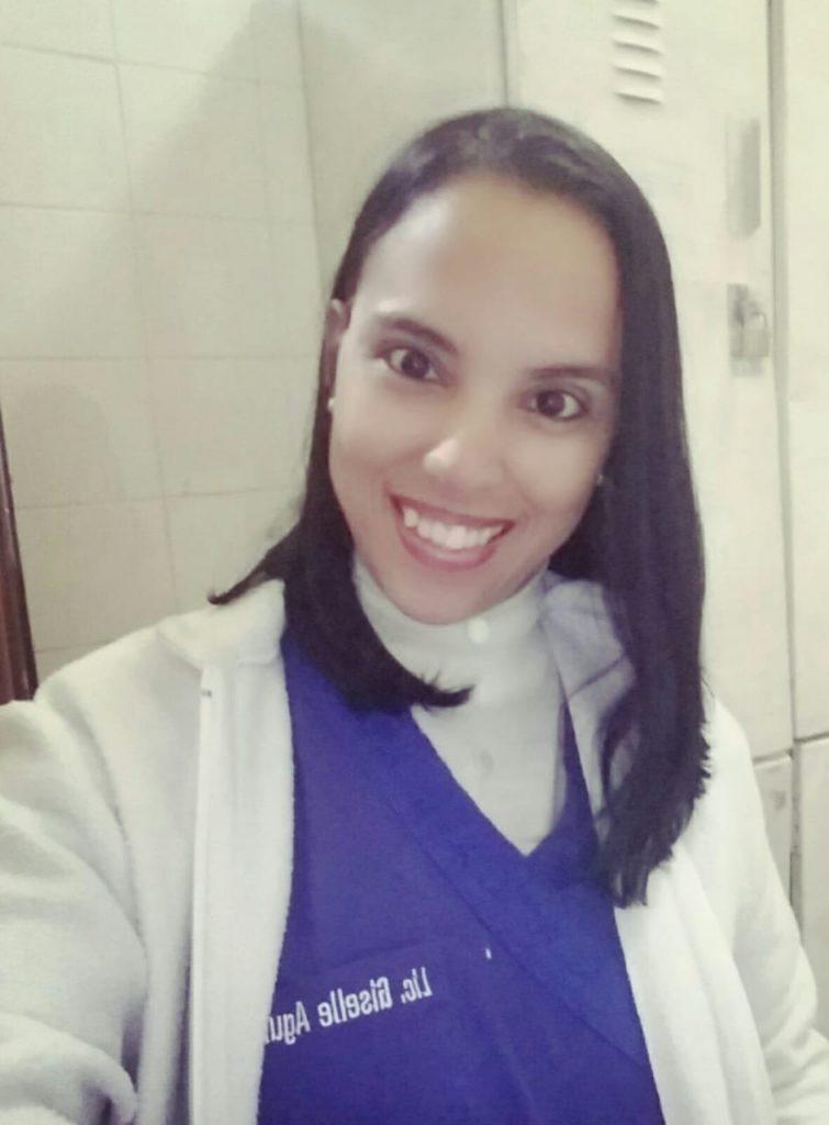 Guisselle Aguilera, la joven trasplantada es enfermera. (Foto Gentileza).