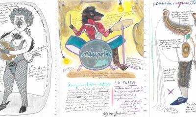 """Marcelo Medina, de la serie """"Erótica sombría. Cuadernos de NY"""", 2019. Cortesía"""