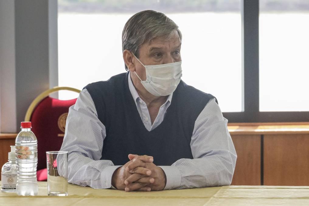 José Pakova Ledesma, senador (Foto Gentileza).