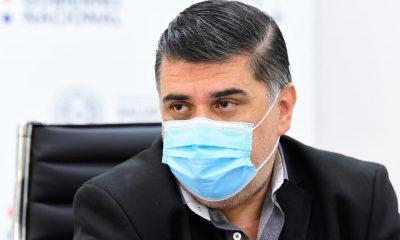 Ministro de Salud, Julio Borba. (Foto Ministerio de Salud).