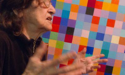 Laura Márquez en su loft de NY, 2009 © Alicia Ainbinder