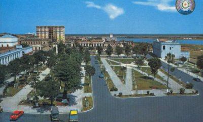 Plaza Constitución, Centro Histórico de Asunción, ca. 1970. Cortesía