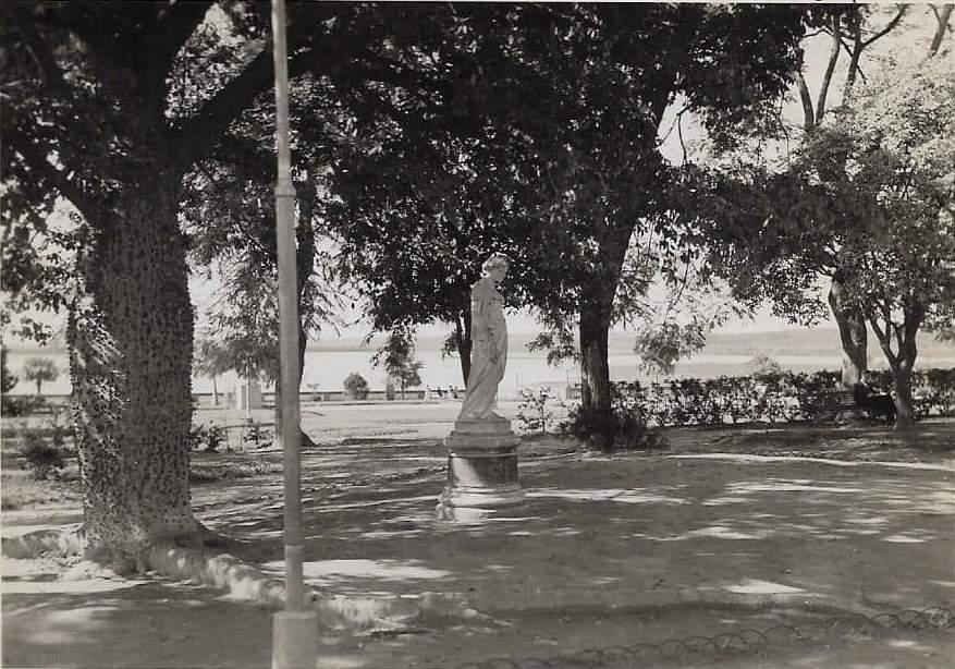 Plaza Independencia, ca. 1920. Cortesía