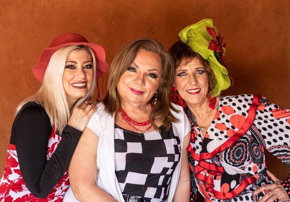 María Liz Barrios, Raquel Rojas y Carmen Briano. Cortesía.