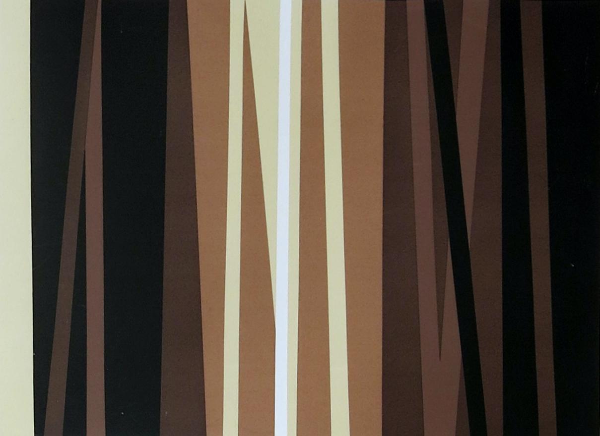 Laura Márquez. Sin título, 1971.Serigrafía, edición 1991.18 x 38 cm.Colección privada.Cortesía Galería Exaedro