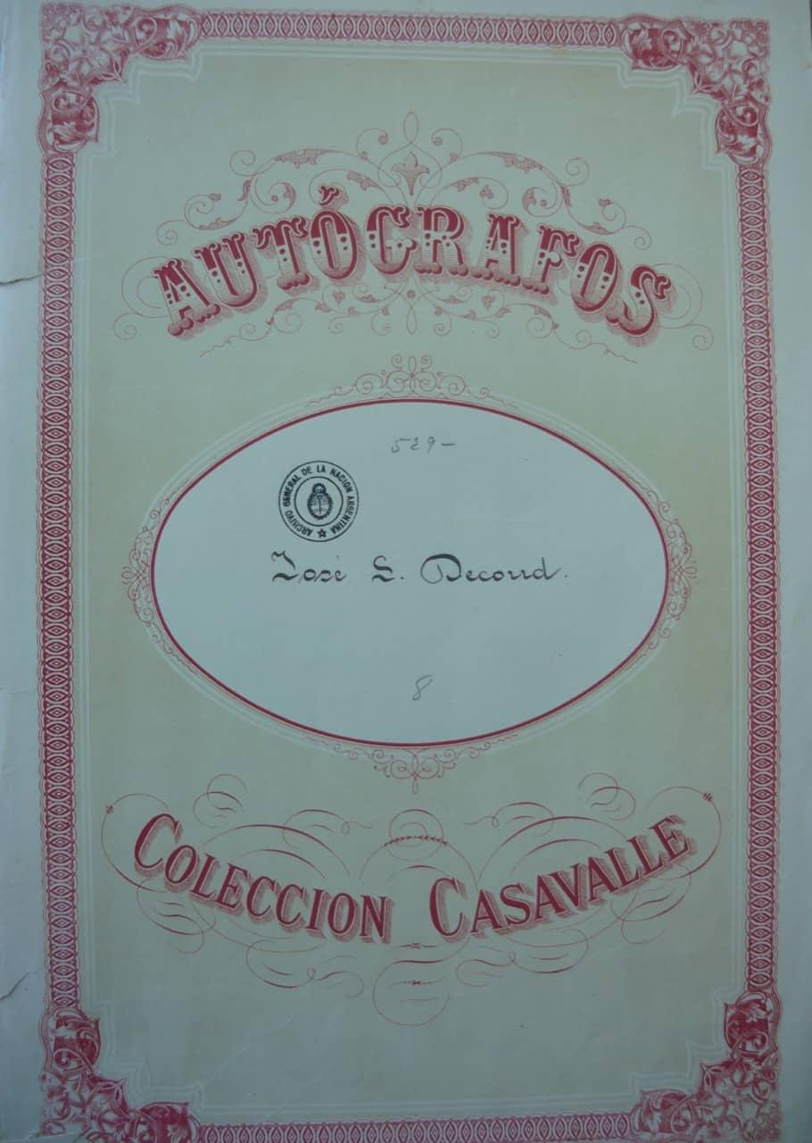 Colección Carlos Casavalle, AGNA © Tomás Sansón Corbo