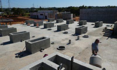 Tratamiento de agua residual en San Lorenzo. Foto: MOPC.