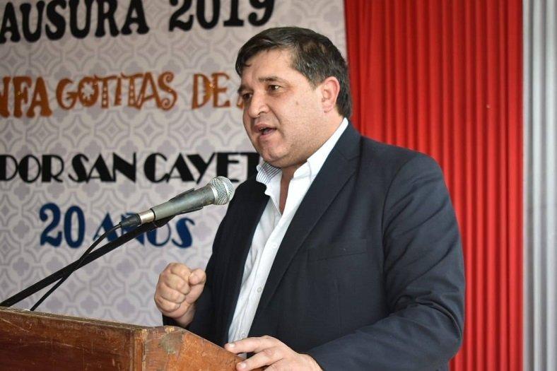 Alcides Riveros, candidato a intendente. (Foto Gentileza)