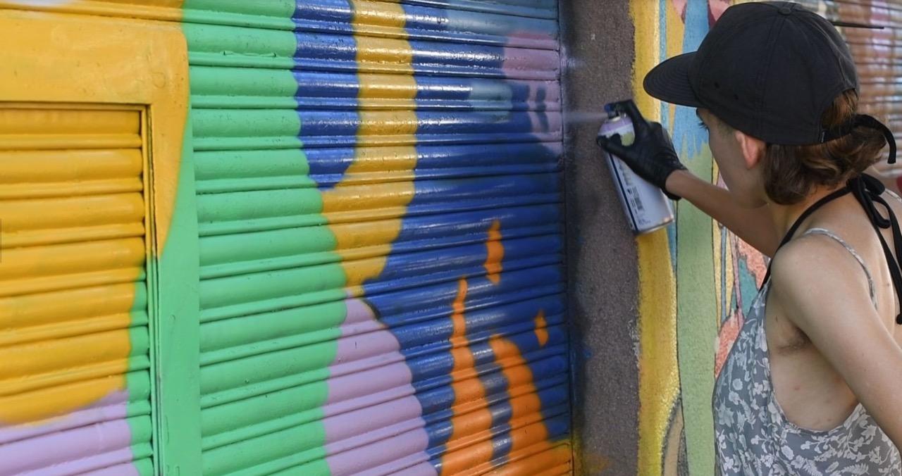 La Chispa. Murales. Cortesía