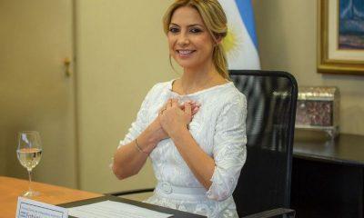 Fabiola Yañez, primera dama de la Argentina. Foto: Clarín.