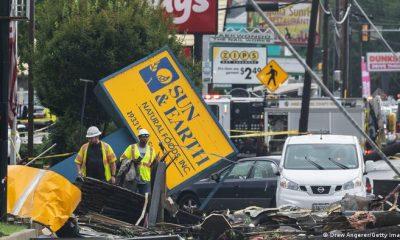 Inundaciones en Nueva York. Foto: DW.