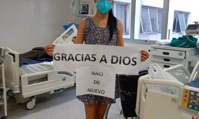 Gisselle Aguilera, la joven transplantada. (Foto Gentileza).