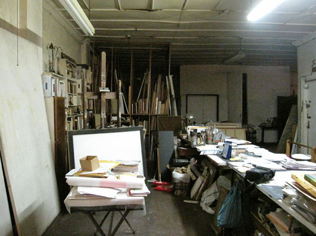 Atelier de Laura Márquez, NY, 2009 © Alicia Ainbinder