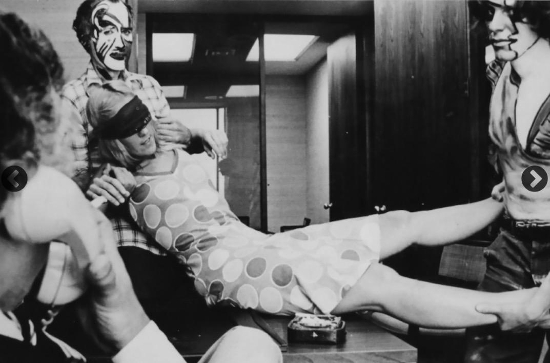 Marta Minujín, Kidnappening, 1973. Cortesía AS