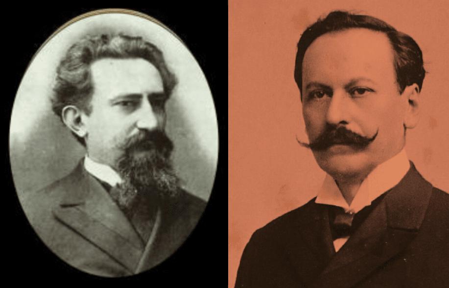 José Segundo Decoud y Juan Silvano Godoy. Archivo