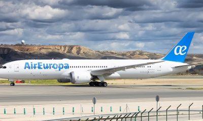 Air Europa ampliaría frecuencia de vuelos desde noviembre. (Foto aeronauticapy.com)