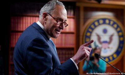 Chuck Schumer, líder demócrata en el Senado estadonidense, en una imagen reciente. Foto: Picture Aliance.