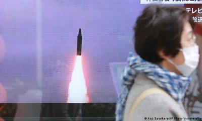 Autoridades de Corea del Sur informaron que el proyectil fue disparado al mar, al este de la península. Foto: Picture Aliance.