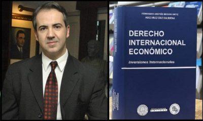 El Dr. Fernando Beconi es uno de los autores del libro. (Gentileza)