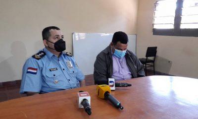 Autoridades de Interpol brindaron una conferencia de prensa. (Foto 780 AM)