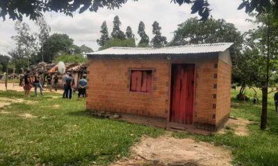 La familia se encontraba en el interior de la humilde vivienda. (Foto: Liberación Noticias
