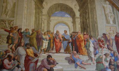 "Rafael Sanzio, ""La escuela de Atenas"". Archivo"