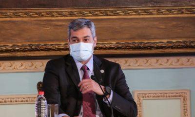 Mario Abdo Benítez. (Foto Presidencia).