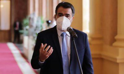 Ministro de Hacienda, Oscar Llamosas. Foto: Agencia IP: