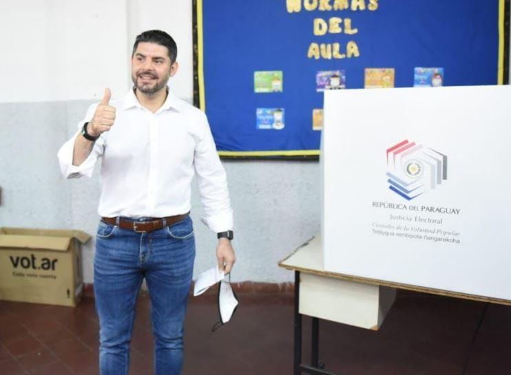 """Óscar """"Nenecho"""" Rodríguez, intendente electo. (Gentileza)."""