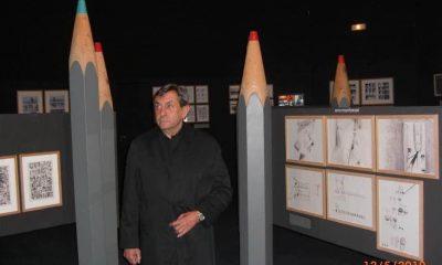 Robin Wood en el Festival Internacional del Cómic de Angulema, 2010. FB Graciela Sténico